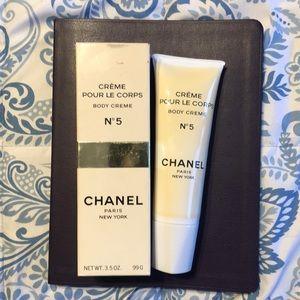 NIB VINTAGE Chanel No.5 Creme Pour Le Corps